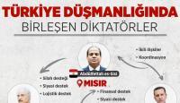 Türkiye düşmanlığında buluştular