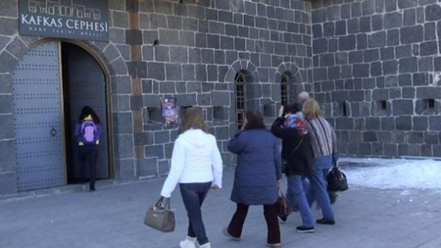 Kafkas Cephesi'nde yaşananlar interaktif müzede anlatılıyor