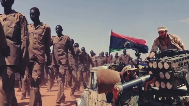 Sudanlı Avukat: Cancavid milislerini Libya'ya götüren BAE'li yetkililerin isimlerin biliyoruz