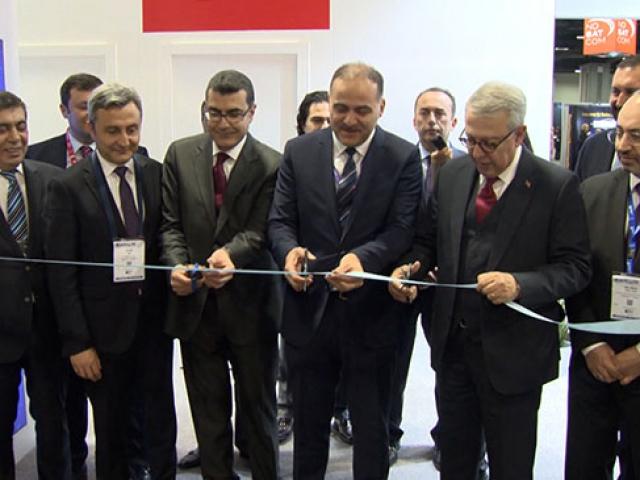 Türk uydu firmaları ABDdeki fuarda yerini aldı