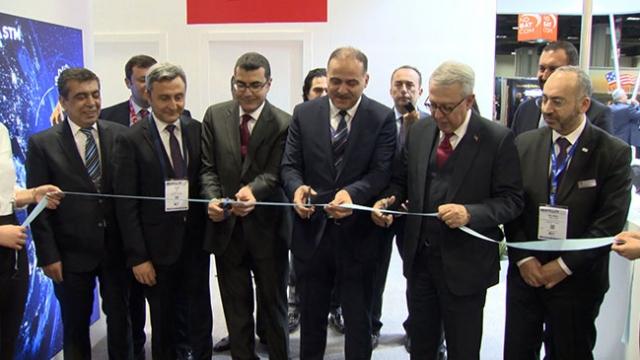 Türk uydu firmaları ABD'deki fuarda yerini aldı