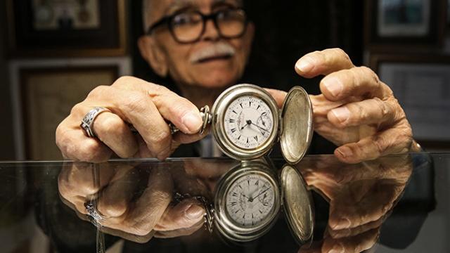 Saat ustalığına adanmış 70 yıl