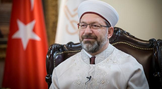 Diyanet İşleri Başkanı Erbaş: İstiklal Marşımız büyük bir inancın sembolüdür