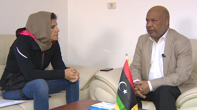 Libya Sağlık Bakanı Ahmeyd Ibn Omer, TRT Haber'e konuştu