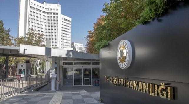 Türkiyeden Yunanistan Dışişleri Bakanı Dendiasın açıklamalarına tepki