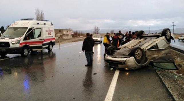 Kayseride trafik kazaları: 3 yaralı