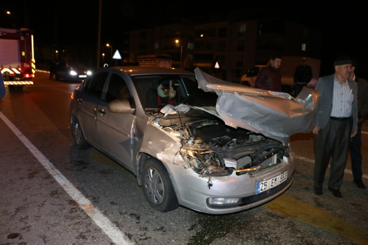 Manisadaki trafik kazasında 1 kişi yaralandı