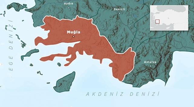 Akdenizde 4,4 büyüklüğünde deprem