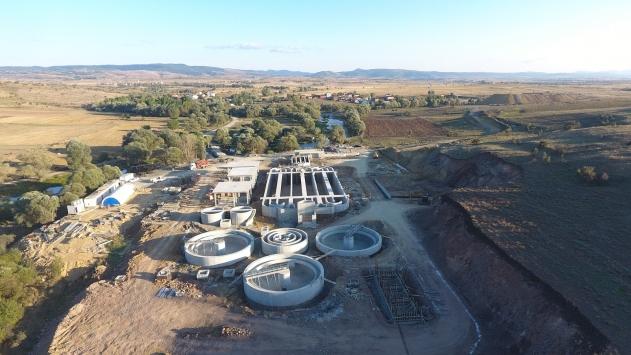 Ankaranın yeni atık su arıtma tesisine sayılı günler kaldı