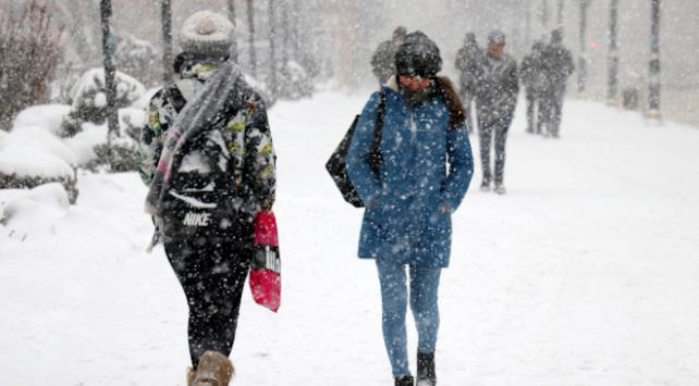 3 ilde kar yağışı etkili oldu