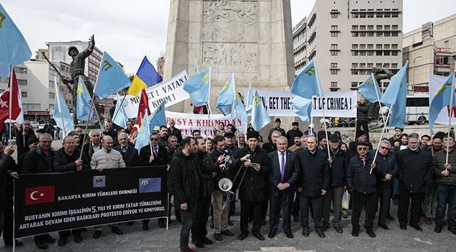 Rusyanın Kırımı yasa dışı ilhakının 6. yılı