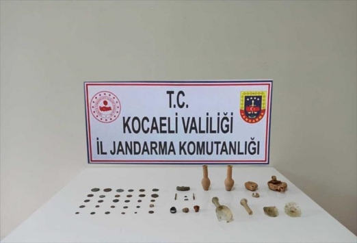 Kocaelide 43 parça tarihi eser ele geçirildi