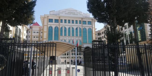 Antalya Adliyesinde korona virüsü önlemi