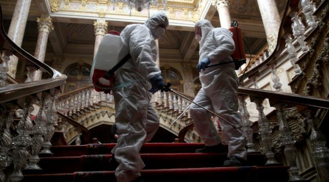 Milli Saraylarda koronavirüs tedbirleri artırıldı