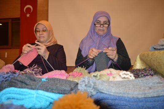 Sakaryadaki kadınlardan Diyarbakırlı çocuklara yürek ısıtan destek