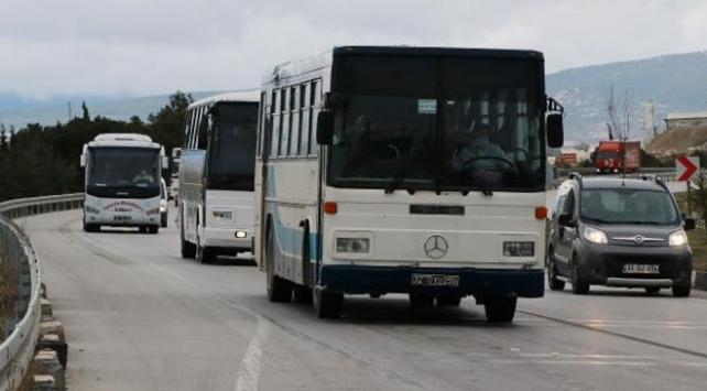 Ispartada umreden dönen 180 kişi yurda yerleştirildi