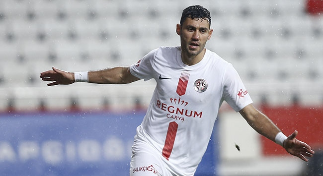 Antalyaspor Sivassporu tek golle devirdi