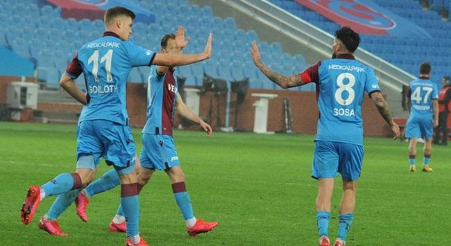 Trabzonspor haftayı lider bitirdi