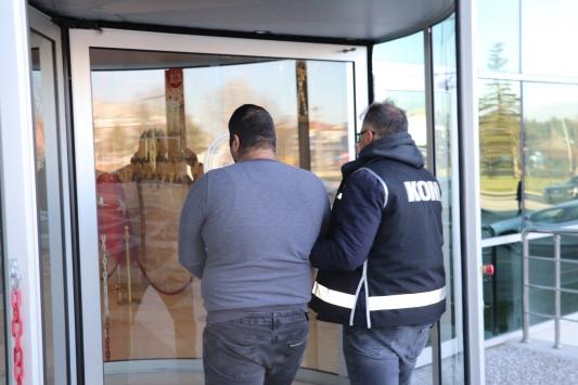 13,5 kilo uyuşturucu ile yakalanan çift adliyeye sevk edildi