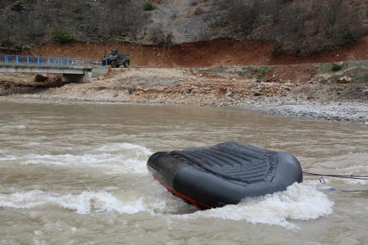 Tuncelide bot devrildi: 1 uzman çavuş kayıp