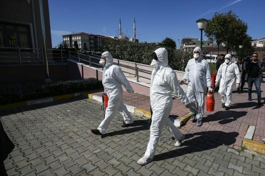 Avrupadan gelen vatandaşların karantinaya alınacağı yurtlardaki hazırlıklar tamamlandı