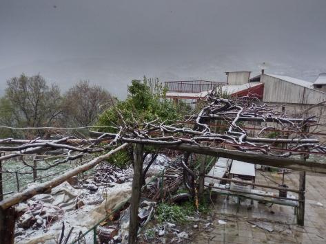 Antalyanın yüksek kesimlerinde kar yağışı etkili oldu