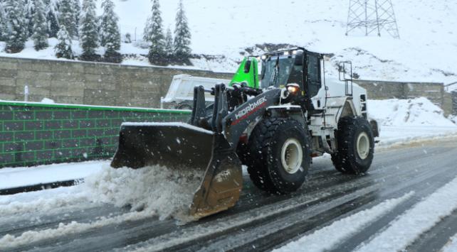 Kar nedeniyle ulaşımda güçlük yaşandı