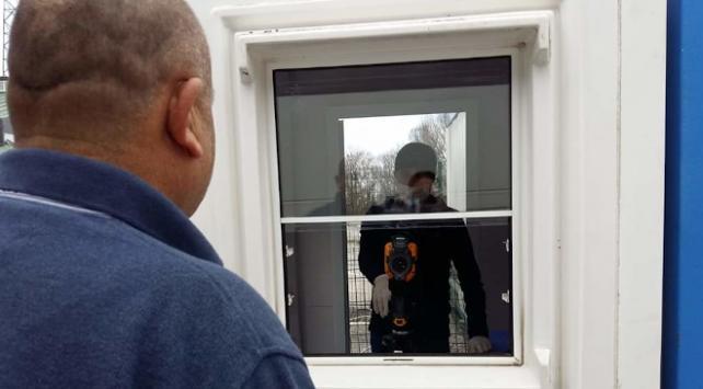 Dereköy Sınır Kapısında tedbirler artırıldı