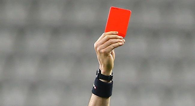 TFF 1. Ligde en fazla kırmızı kart seyircisiz haftada gösterildi