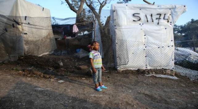 Yunanistandaki sığınmacı kamplarında koronavirüs endişesi