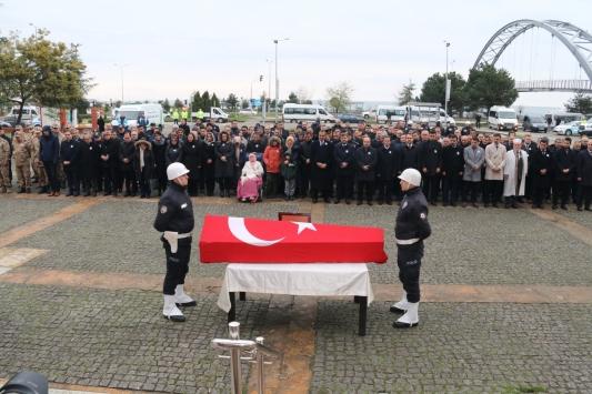 Kalp krizi sonucu ölen Espiye Kaymakamı Baştürk için tören düzenlendi
