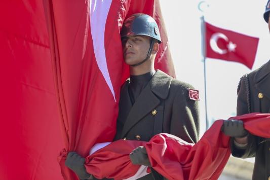 Ankarada Çanakkale Deniz Zaferi anma töreni