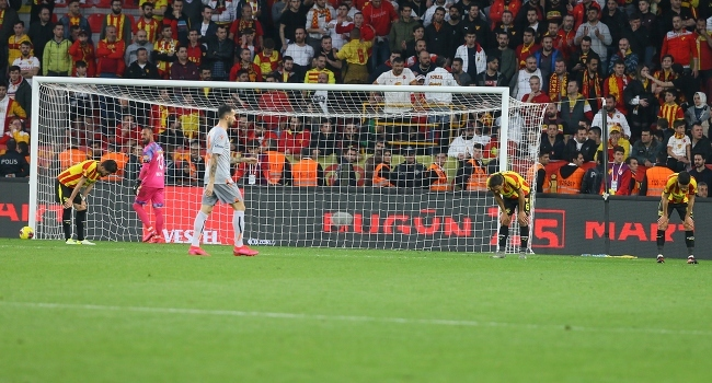 Göztepe-Başakşehir maçında 47 kişiye adli işlem