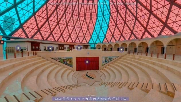 Türk Dünyası Bilim Kültür ve Sanat Merkezinden sanal gezi imkanı
