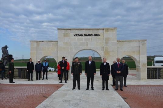 Edirnede Çanakkale Deniz Zaferinin 105. yıl dönümü anma töreni düzenlendi
