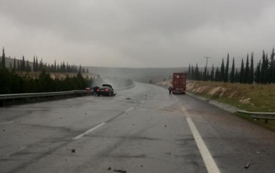 Şanlıurfada trafik kazaları: 5 yaralı