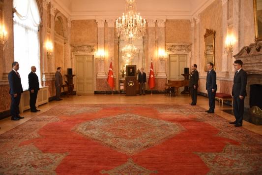 Viyana Büyükelçiliği, 18 Mart Şehitleri anma programı düzenledi