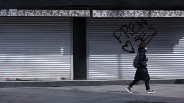 Kadıköy sokaklarında koronavirüs ıssızlığı