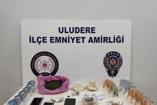 Şırnakta uyuşturucu operasyonlarında 38 kişi yakalandı