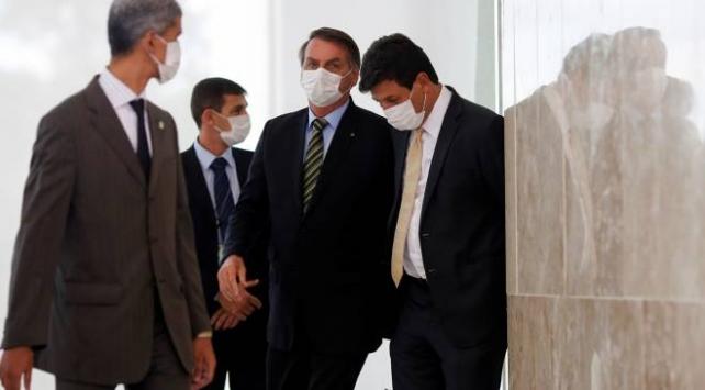 Brezilyada Devlet Başkanına koronavirüs protestosu