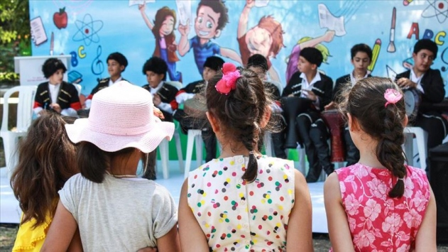 Bakım yurtlarındaki çocuklara sağlık kotrolü