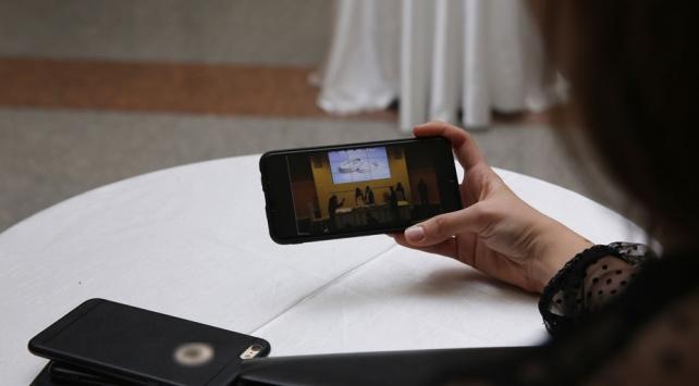 Ümraniyede koronavirüse karşı online nikah