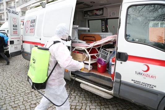 Orduda koronavirüs tedbirleri kapsamında çalışmalar devam ediyor