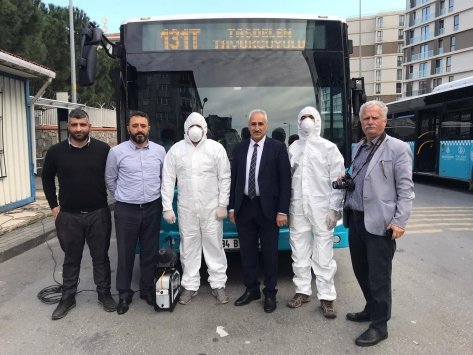 İstanbulda Özel Halk Otobüsleri sağlık çalışanlarına ücretsiz