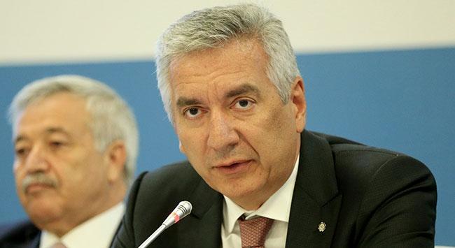 Türkiye Futbol Federasyonu Başkan Vekili Erdal Bahçıvan istifa etti