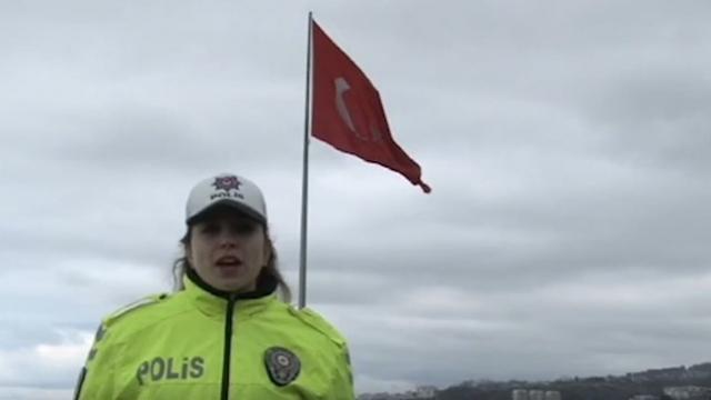 Trabzon Emniyetinden evde kal çağrısı