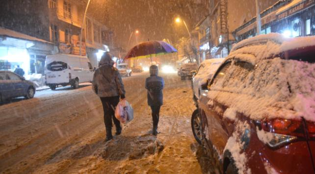 2 ilde karla karışık yağmur bekleniyor