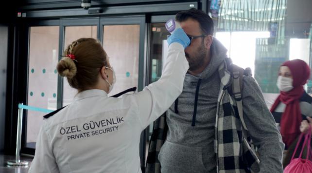 İstanbul Havalimanında koronavirüse karşı ek tedbirler alınıyor