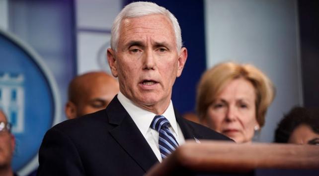 ABD Başkan Yardımcısı Pence koronavirüs testi yaptıracak