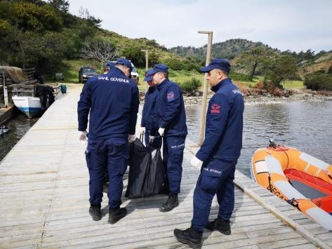 Muğlada denize kaybolan kişinin cansız bedeni bulundu
